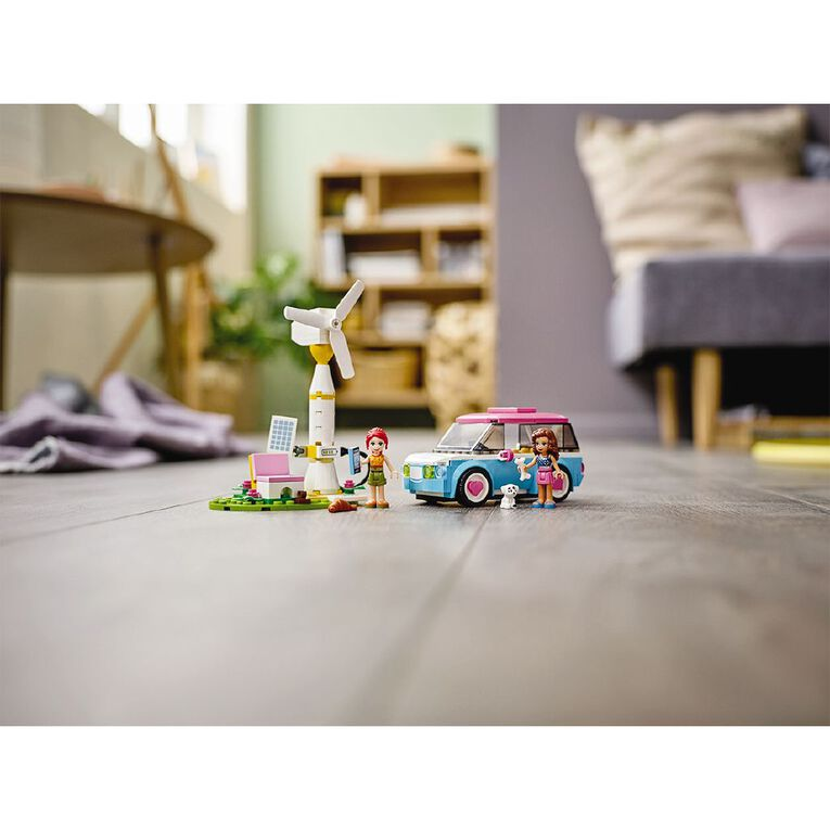 LEGO Friends Olivia's Electric Car 41443, , hi-res