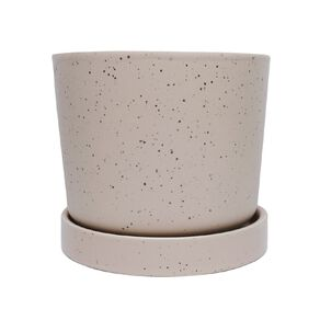 Kiwi Garden Pot With Saucer 13cm