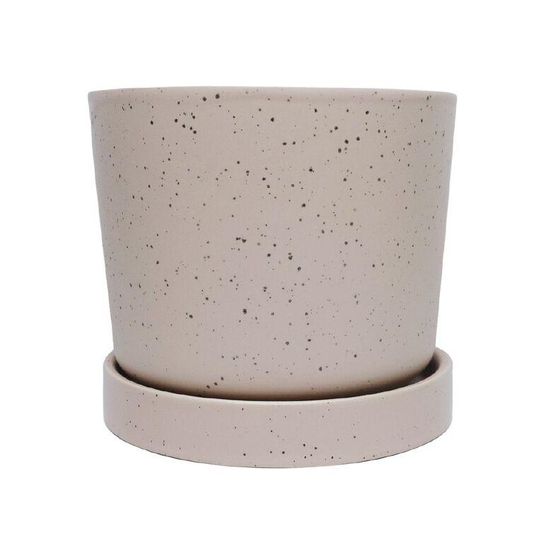 Kiwi Garden Pot With Saucer 13cm, , hi-res image number null