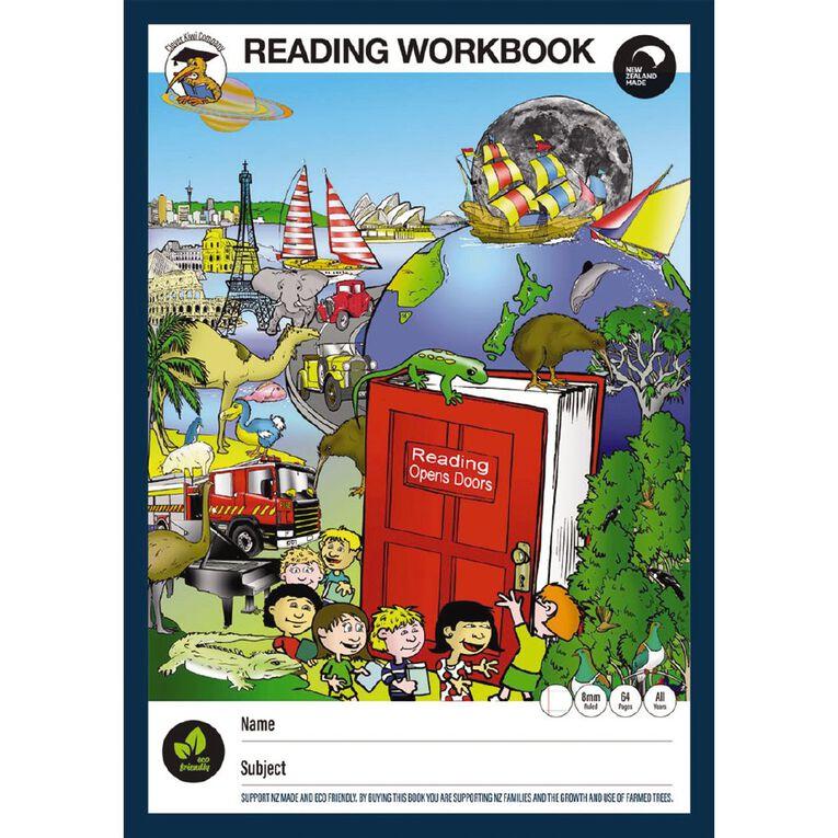 Clever Kiwi Reading Workbook, , hi-res