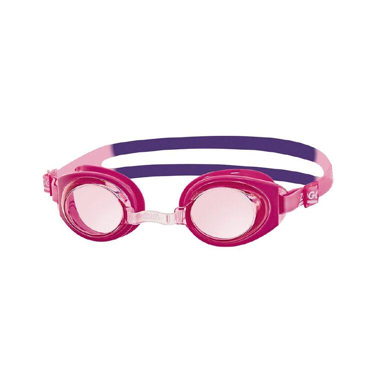 Zoggs Ripper Junior Goggles Pink, , hi-res