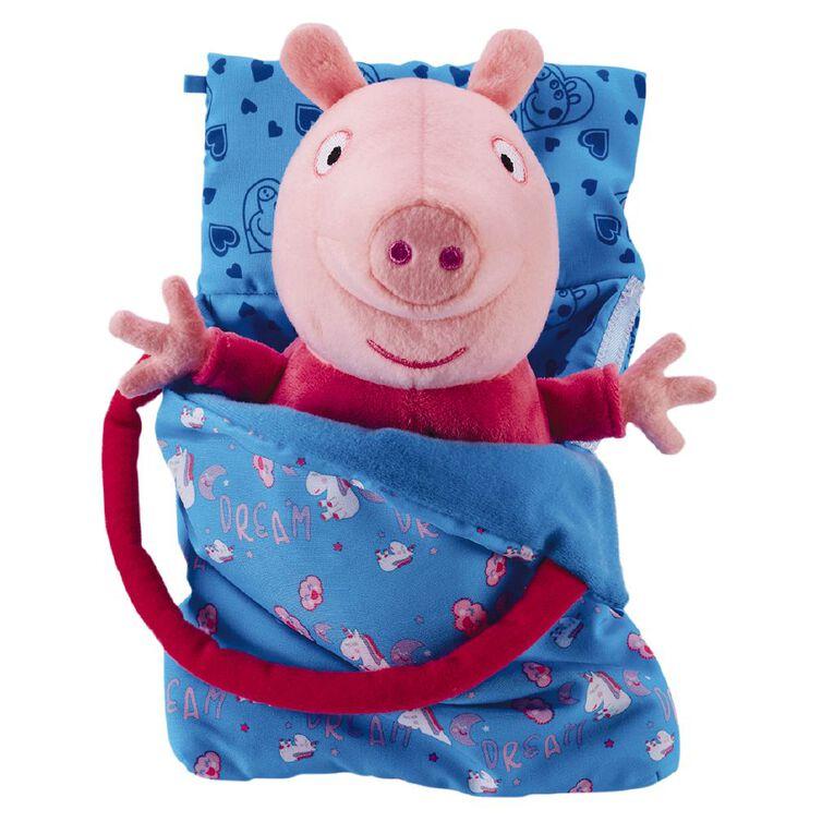 Peppa Pig Plush Sleepover Peppa, , hi-res