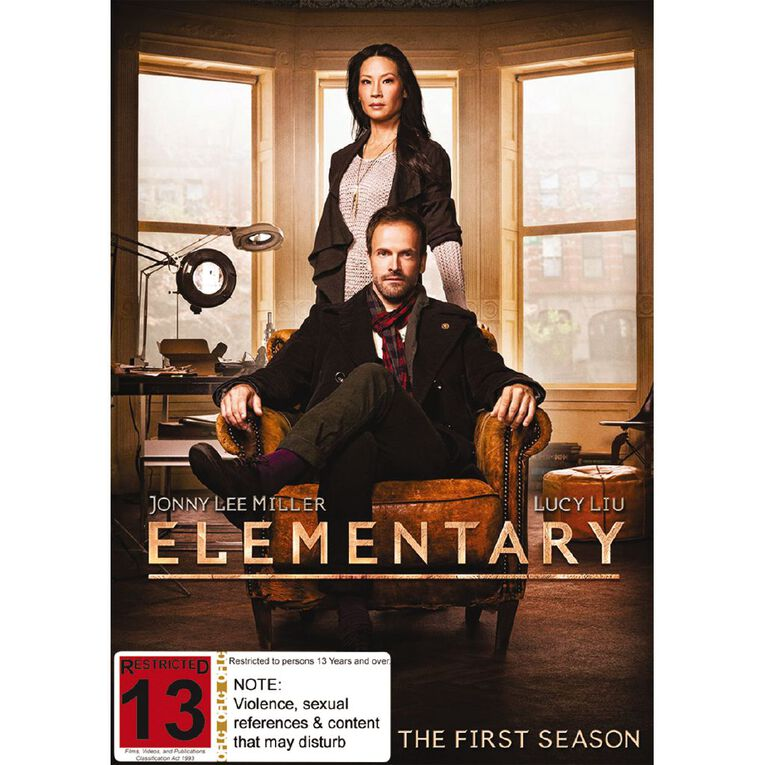 Elementary Season 1 DVD 6Disc, , hi-res