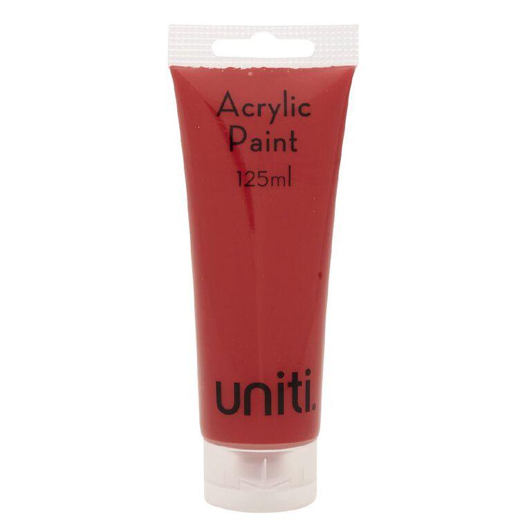 Uniti Acrylic Tube Crimson 125ml, , hi-res