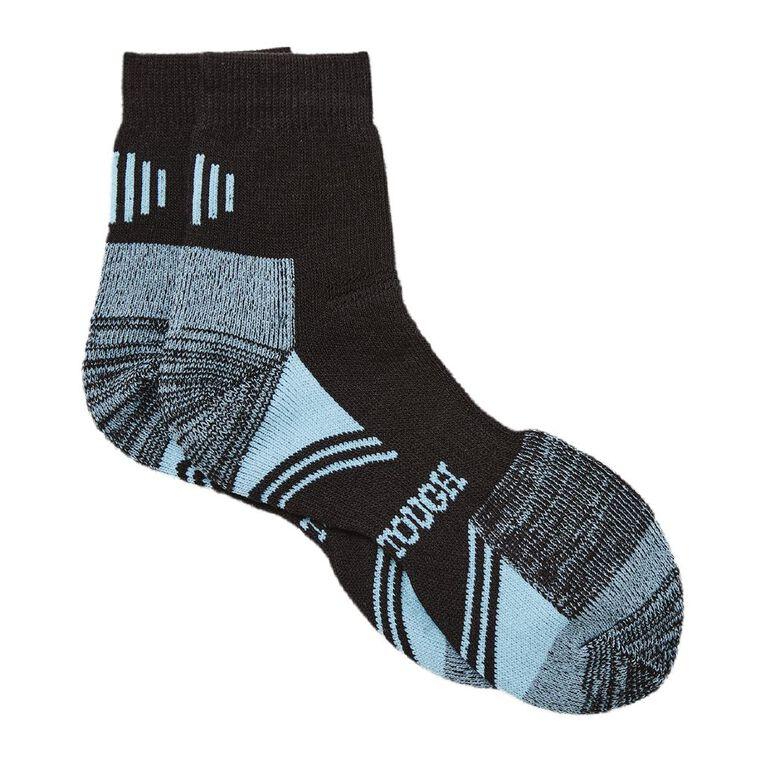 Darn Tough Women's Work Socks 2 Pack, Black/Mint, hi-res