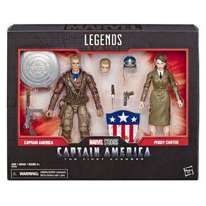 Marvel Legends 80th Anniversary Captain America Peggy Carter