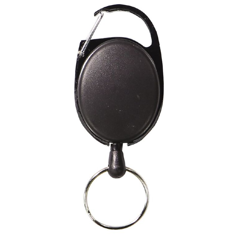 WS Retractable Key Holder with Snap Lock, , hi-res
