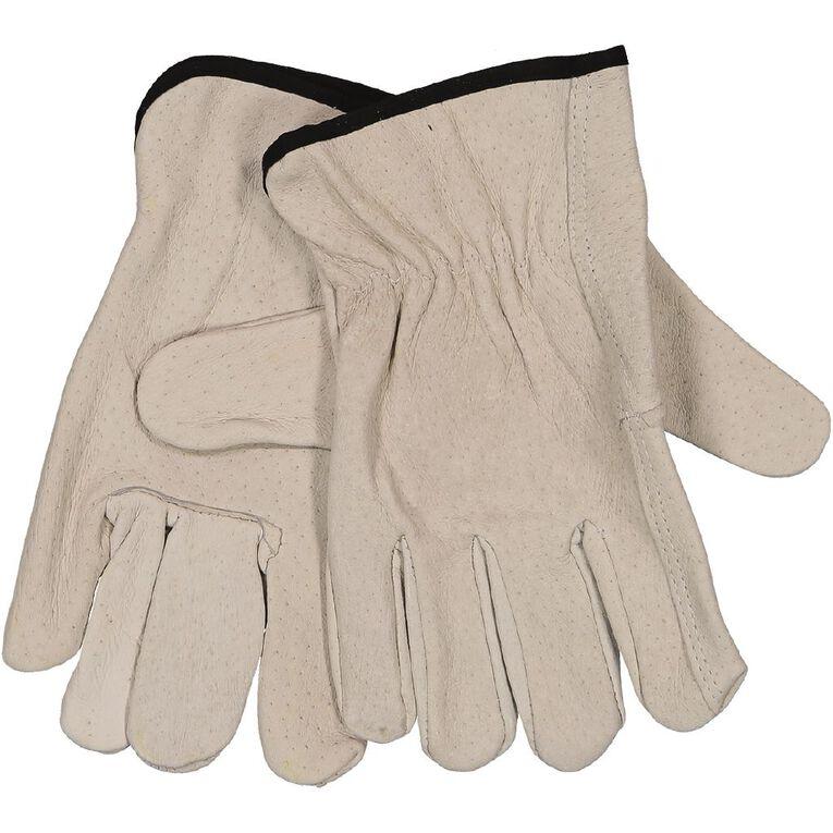 Kiwi Garden Heavy Duty Leather Gloves L-XL, , hi-res