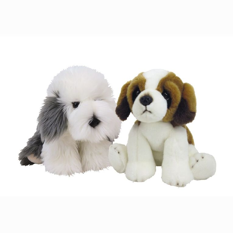 Antics Silky Dogs Lying Large Assorted 30cm, , hi-res