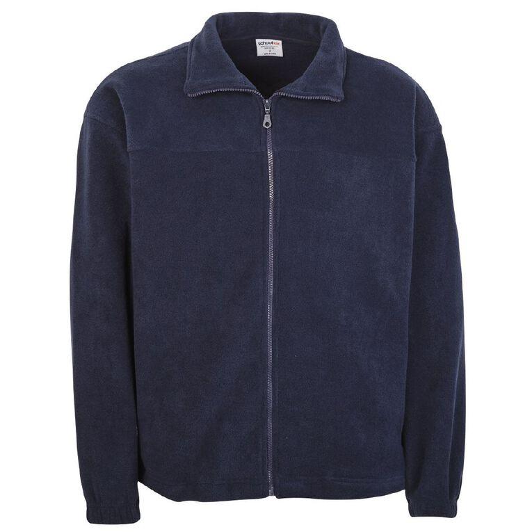 Schooltex Polar Fleece Jacket, Navy, hi-res