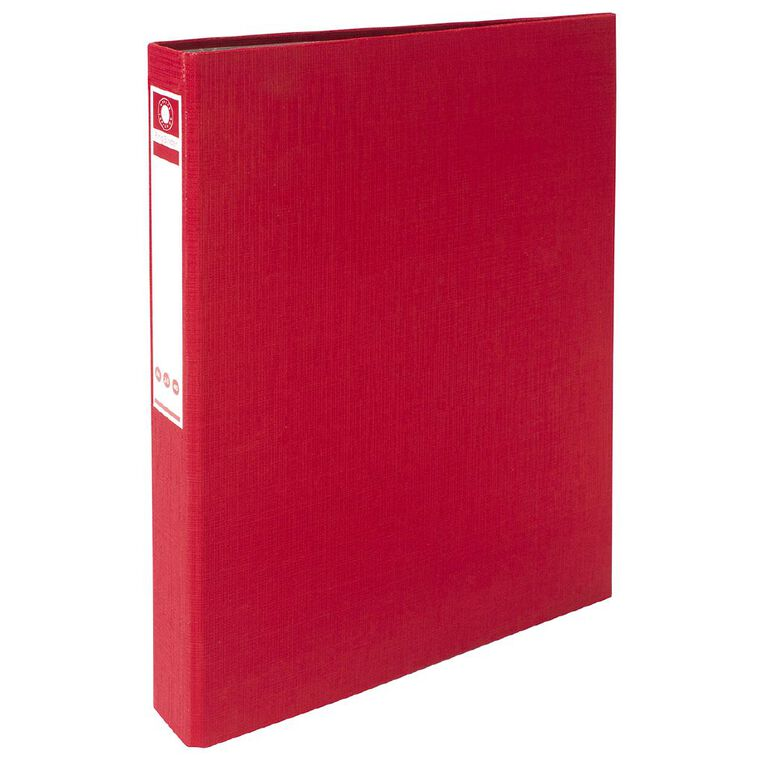 Office Supply Co Ringbinder Red A4, , hi-res