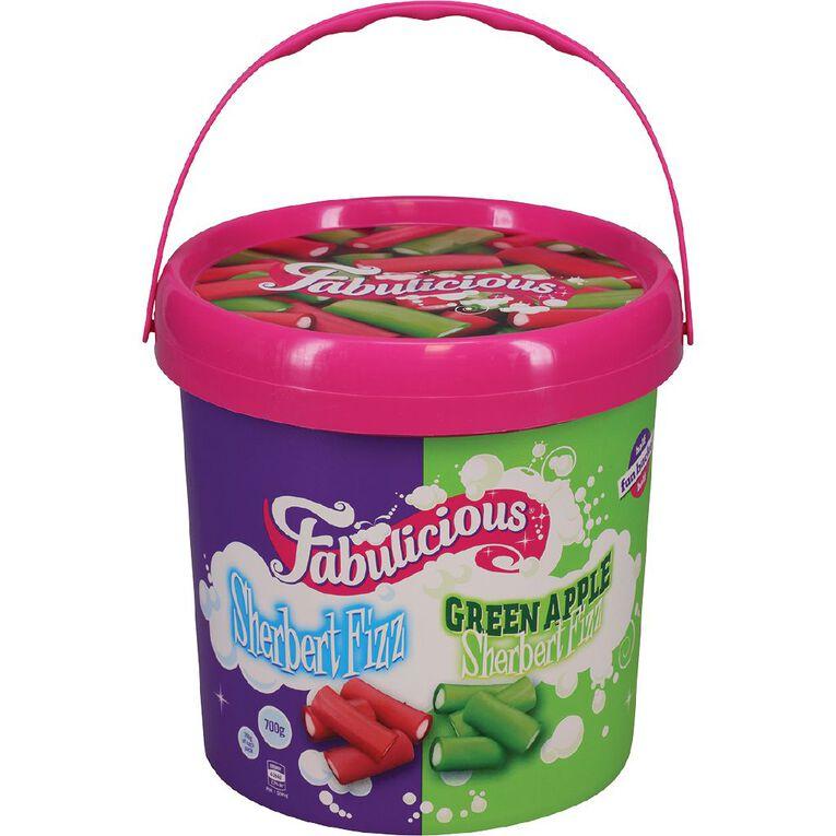 RJ's Licorice Fabulicious Fun Bucket 700g, , hi-res
