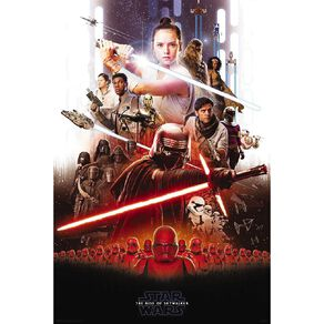 Poster #20 Star Wars 9 Rise Of Skywalker Key Art