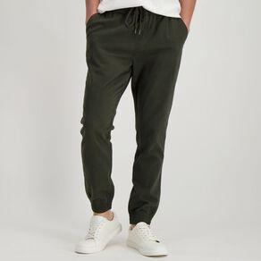 H&H Men's Cuffed Jogger Chino Pants