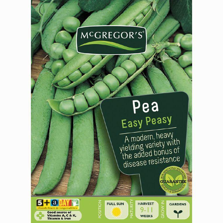 McGregor's Easy Peasy Peas Vegetable Seeds, , hi-res