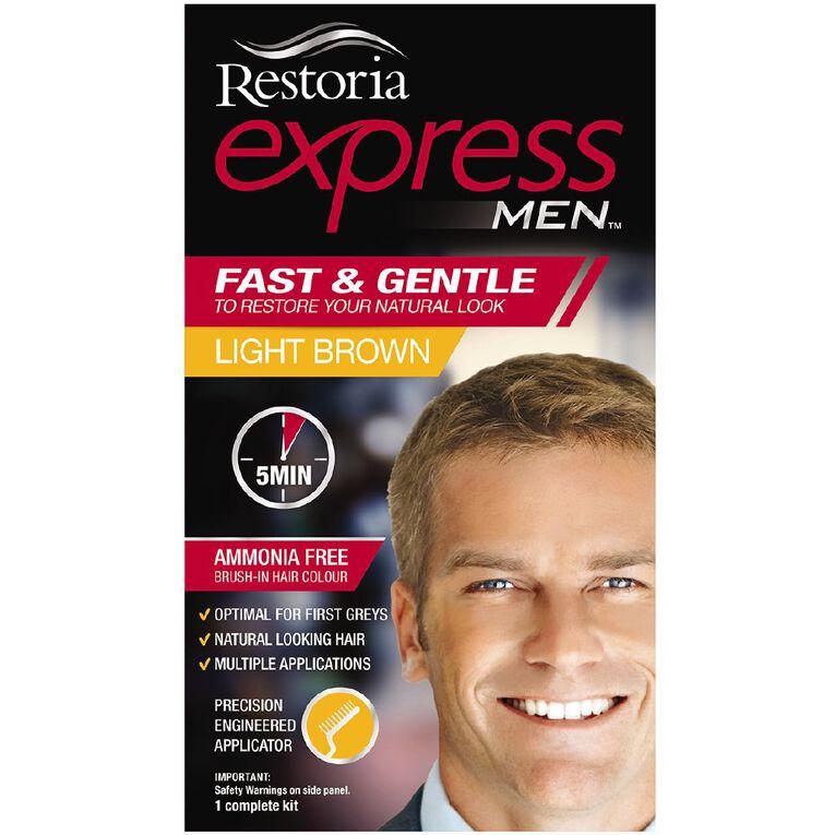 Restoria Express Men Light Brown, , hi-res