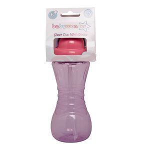Baby Wonder Sports Sipper with Straw Assorted