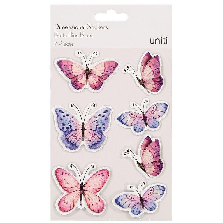 Uniti Butterflies Blues, , hi-res