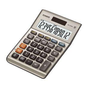 Casio DM1200FM 12 Digit Desktop Calculator Grey
