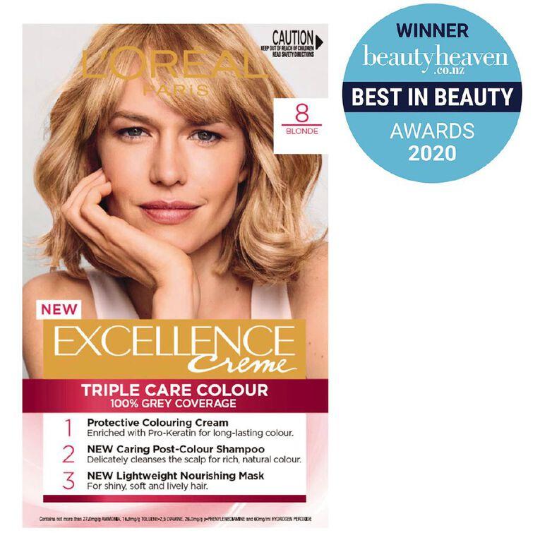 L'Oreal Paris Excellence Creme Blonde 8, , hi-res