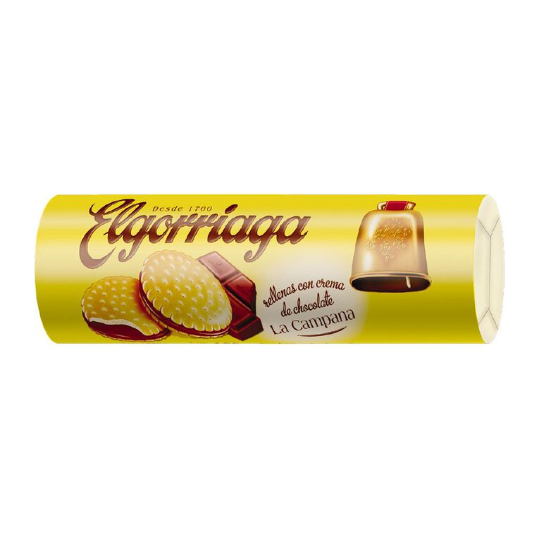 Elgorriaga Cocoa Filled Biscuit 500g, , hi-res