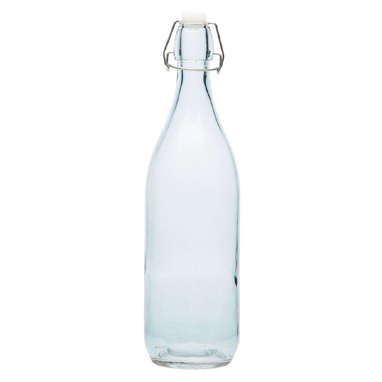 Living & Co Bistro Glass Bottle Mint 1L, , hi-res