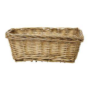 Living & Co Rectangle Gift Basket Natural