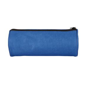 WS Pencil Case Tube Plain Blue
