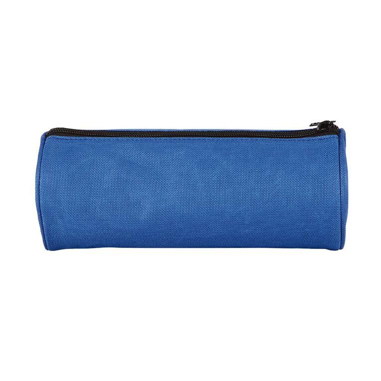 WS Pencil Case Tube Plain Blue, , hi-res