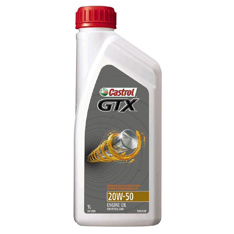 Castrol Oil GTX 20W-50 SN 1L, , hi-res