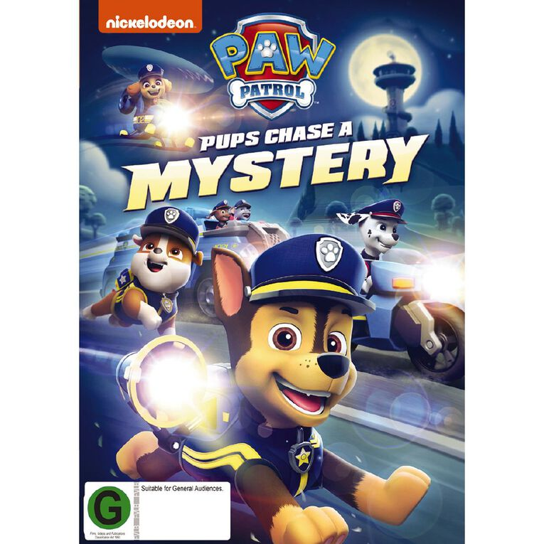 Paw Patrol Pups Chase A Mystery DVD 1Disc, , hi-res