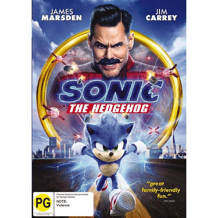 Sonic The Hedgehog DVD 1Disc, , hi-res