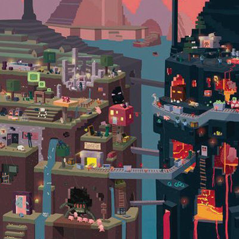 Minecraft World Poster, , hi-res