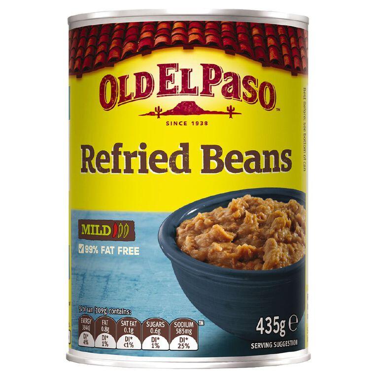 Old El Paso Refried Beans Vegetarian 435g, , hi-res