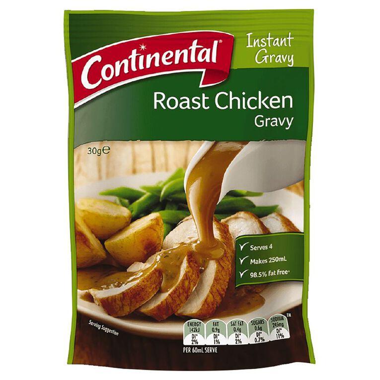 Continental Gravy Roast Chicken 30g, , hi-res