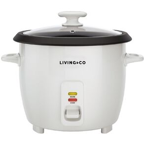 Living & Co Rice Cooker 7 Cup