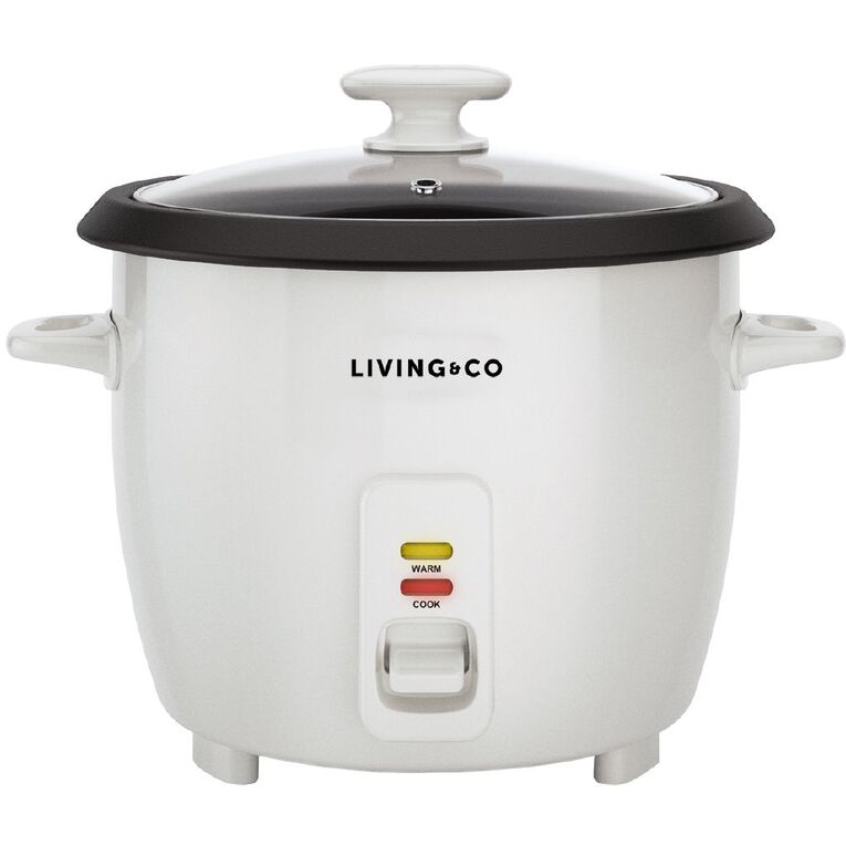 Living & Co Rice Cooker 7 Cup, , hi-res