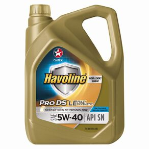 Caltex Havoline Engine Oil Fully Synthetic 5W-40 4L 4L