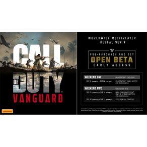 PS5 Call Of Duty Vanguard