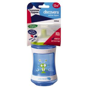 Tommee Tippee Discovera Active Tipper 12mths+ 350ml Assorted