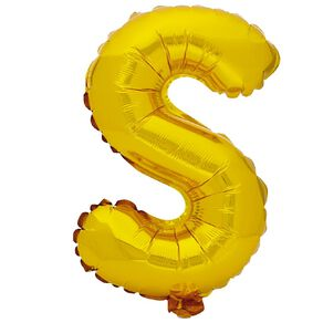 Artwrap Foil Balloon S Gold 35cm