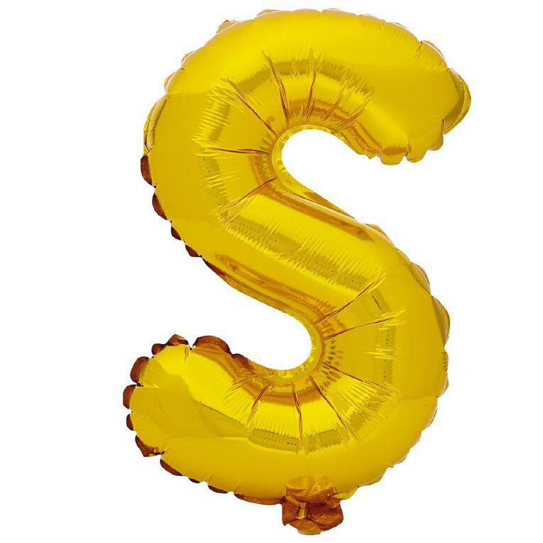 Artwrap Foil Balloon S Gold 35cm, , hi-res