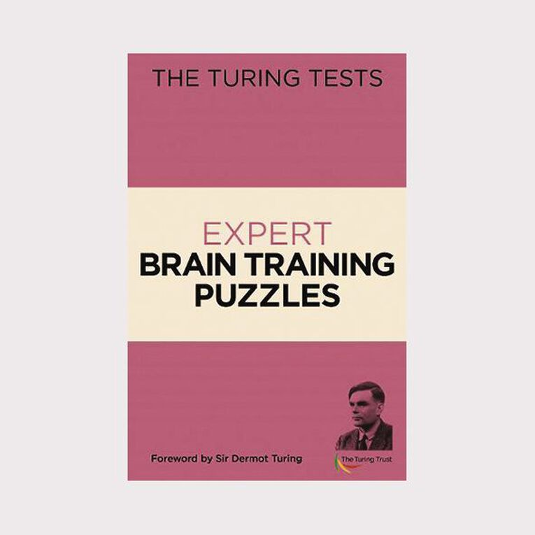 The Turing Tests Expert Brain Training Puzzles by Eric Saunders, , hi-res