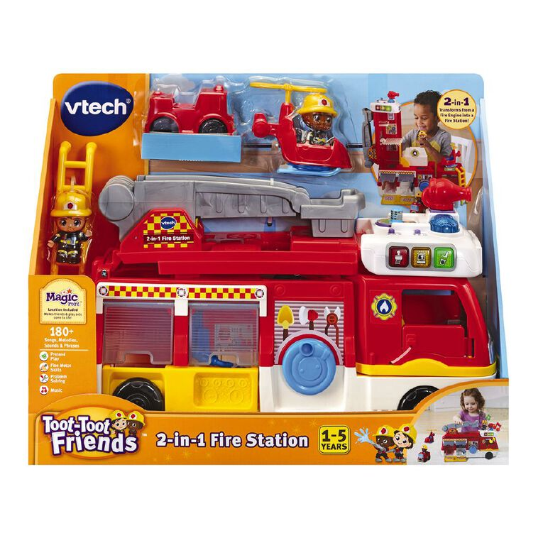 Vtech Toot Toot Friends 2 n 1 Fire Station, , hi-res