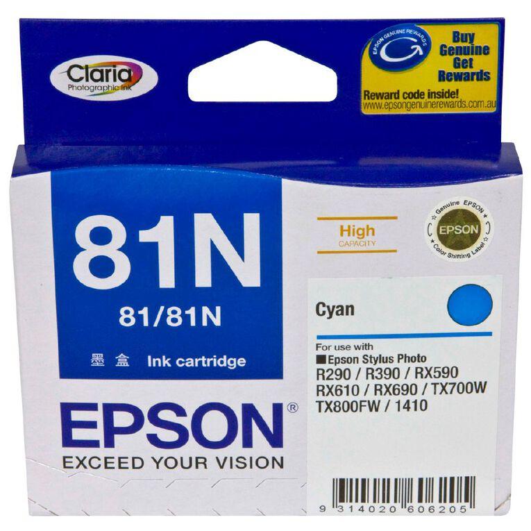 Epson Ink 81N Cyan (805 Pages), , hi-res