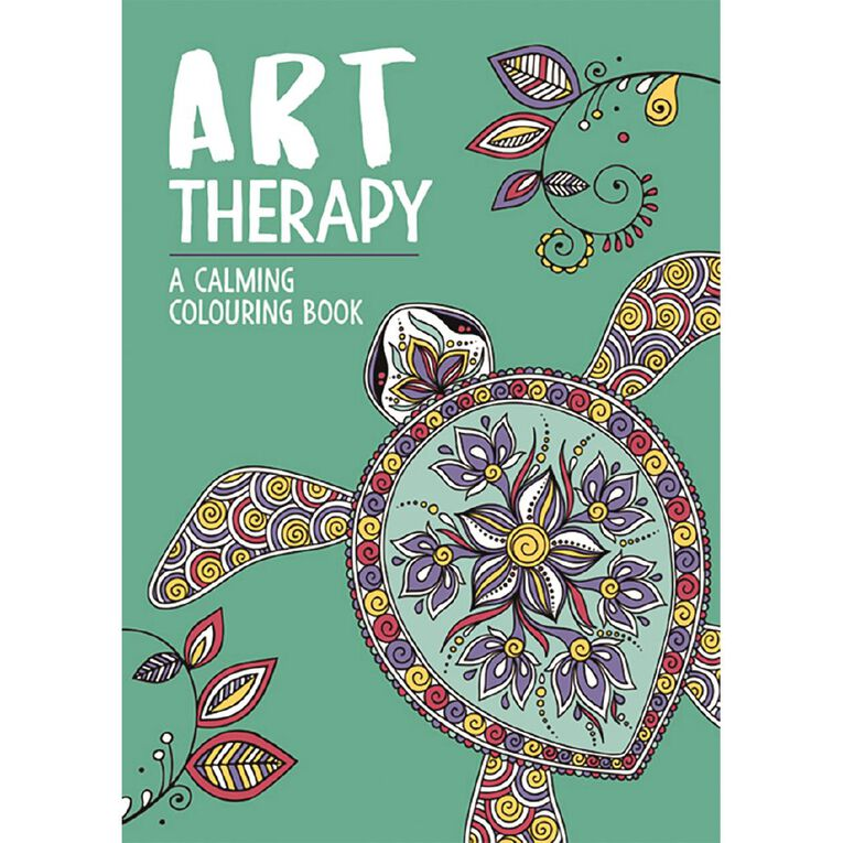 Art Therapy Calming Colouring Book, , hi-res image number null