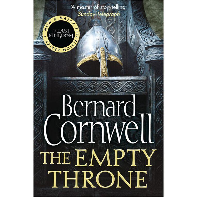 Last Kingdom #8 Empty Throne by Bernard Cornwell N/A, , hi-res