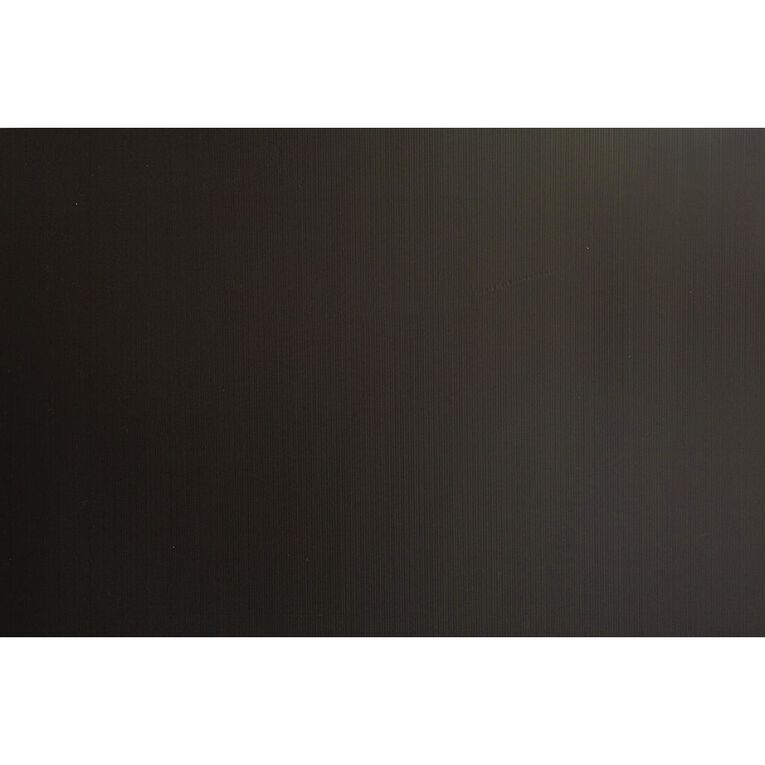 Plasti-Flute Sheet 600mm x 450mm Black, , hi-res