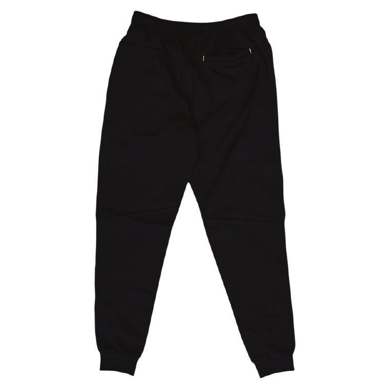 Tradie Trackpants, Black, hi-res