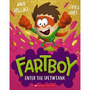 Fartboy #3 Spewtank by Adam Wallace